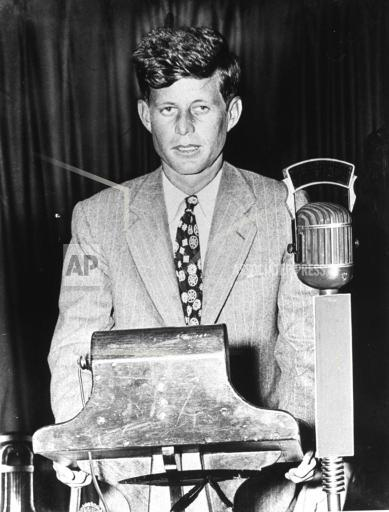 Associated Press Domestic News Massachusetts United States KENNEDY FIRST CAMPAIGN