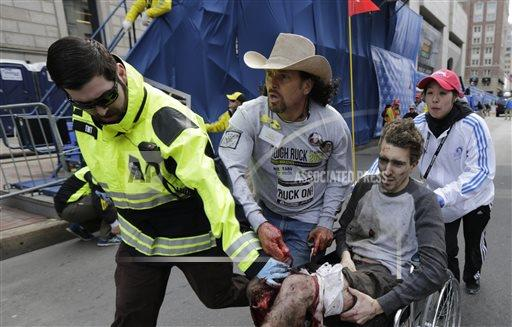 Boston Marathon Explosions Photo Package
