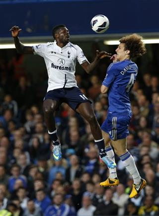 David Luiz, Emmanuel Adebayor