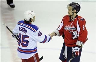 Alex Ovechkin, Arron Asham