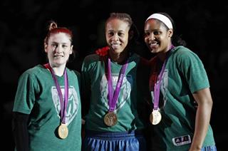 Lindsay Whalen, Seimone Augustus, Maya Moore