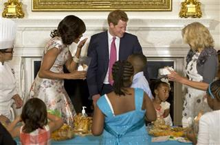 Michelle Obama, Jill Biden, Prince Harry