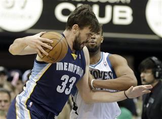 Marc Gasol, Derrick Williams
