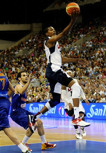 Kevin Durant, Jose Manuel Calderon