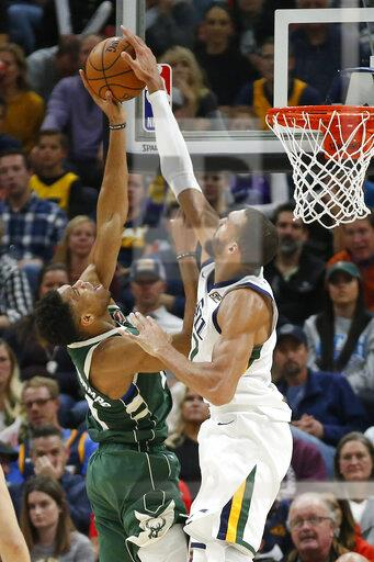 Bucks Jazz Basketball