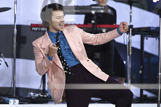 NY: Harry Styles Performs On Today Show