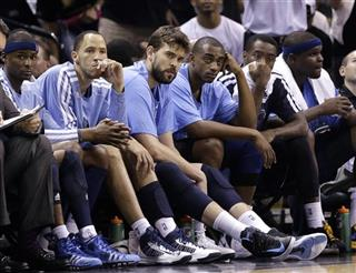 Tayshaun Prince, Marc Gasol, Zach Randolph