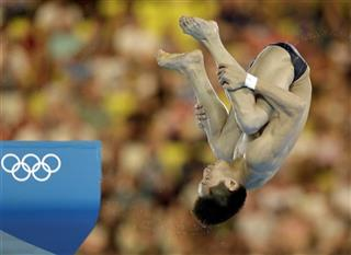 London Olympics Diving Men