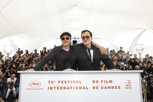 APTOPIX France Cannes 2019 Once Upon a Time in Hollywood Photo Call