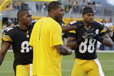 Mike Wallace, Antonio Brown, Emmanuel Sanders