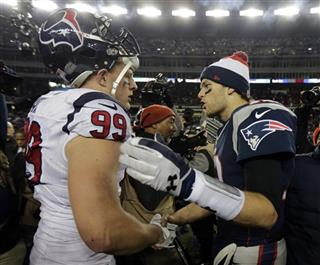 Tom Brady, J.J. Watt