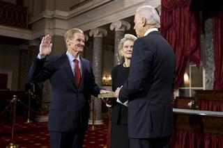 Bill Nelson, Grace Nelson, Joe Biden