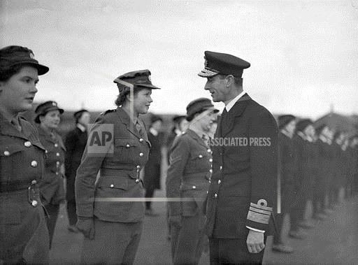Associated Press International News United Kingdom England WWII MOUNTBATTEN ATS PRIVATE