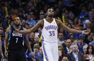 Kevin Durant, Derrick Williams