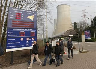 Belgium Nuclear Reactor War Shell
