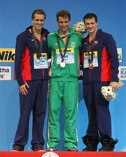 Chad Le Clos, Thomas Shields, Ryan Lochte