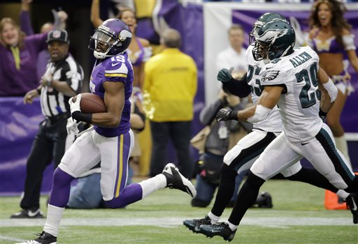 Eagles vs Vikings 2013