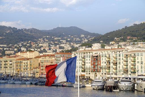 France, Nice, Harbour, French flag