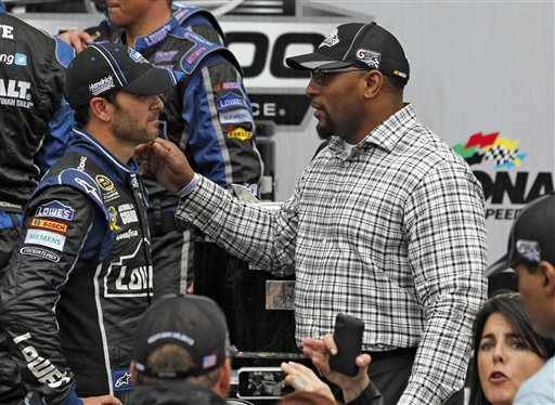 Jimmie Johnson, Ray Lewis
