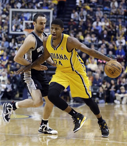 Paul George, Manu Ginobili