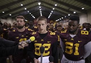 Minnesota-Behind the Boycott Football