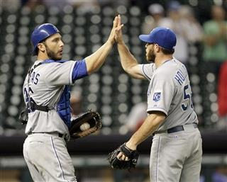 George Kottaras,Greg Holland