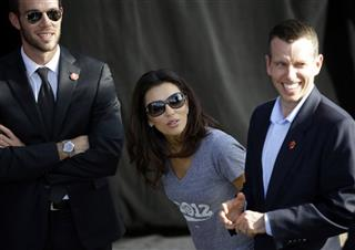 Eva Longoria, David Plouffe, Jon Favreau