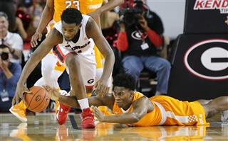 Tennessee Georgia Basketball