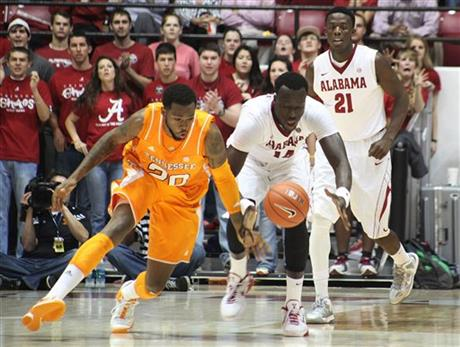 Tennessee Alabama Basketball