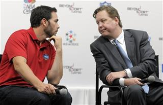 Jimmie Johnson, Brian France