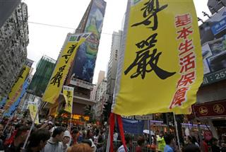 Hong Kong May Day
