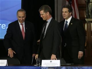 Andrew Cuomo, Shaun Donovan, Charles Schumer
