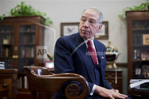 CQPHO AP A  POL DC United States  Charles Grassley