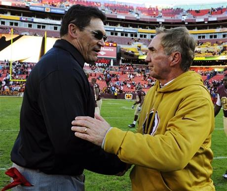 Ron Rivera, Mike Shanahan