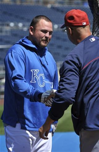 Billy Butler, Terry Francona