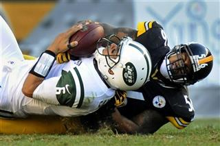 LaMarr Woodley, Mark Sanchez