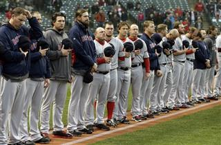 Red Sox Indians Baseball