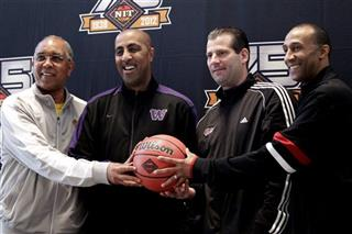 Orlando &quot;Tubby&quot; Smith, Lorenzo Romar, Derek Kellog, Johnny Dawkins