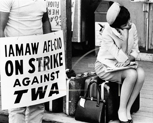 Watchf Associated Press Domestic News Finance Massachusett United States APHS121077 Airline Strike 1966