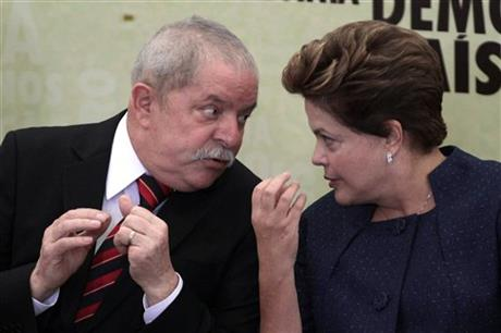 Dilma Rousseff, Luiz Inacio Lula da Silva