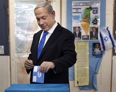 Mideast Israel Election