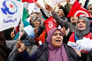 Tunisia Pro Islamist Protest