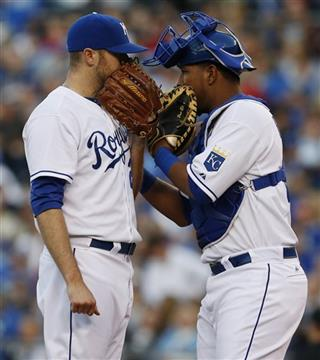 Wade Davis, Salvador Perez