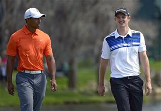 Tiger Woods, Justin Rose