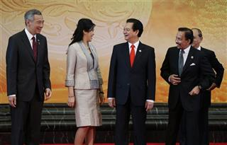 Lee Hsien Loong, Yingluck Shinawatra, Nguyen Tan Dung, Hassanal Bolkiah, Thein Sein 