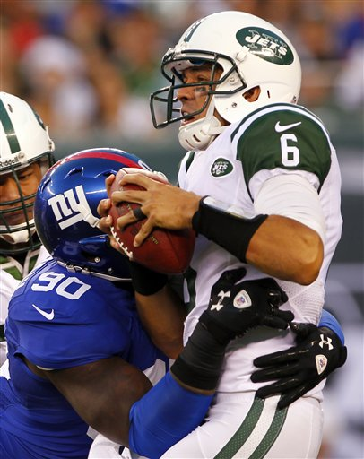 Jason Pierre-Paul, Mark Sanchez
