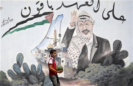Mideast Israel Palestinians