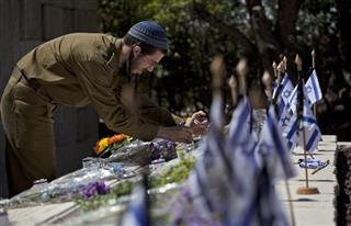 Mideast Israel Memorial Day