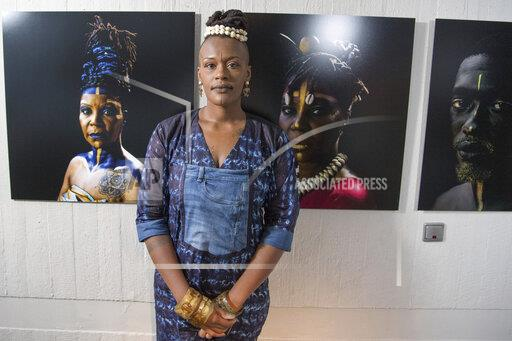 """Pk on the exhibition """"Connecting Afro Futures"""