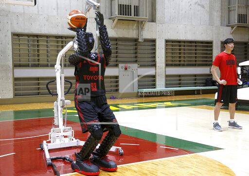Japan Toyota Basketball Robot